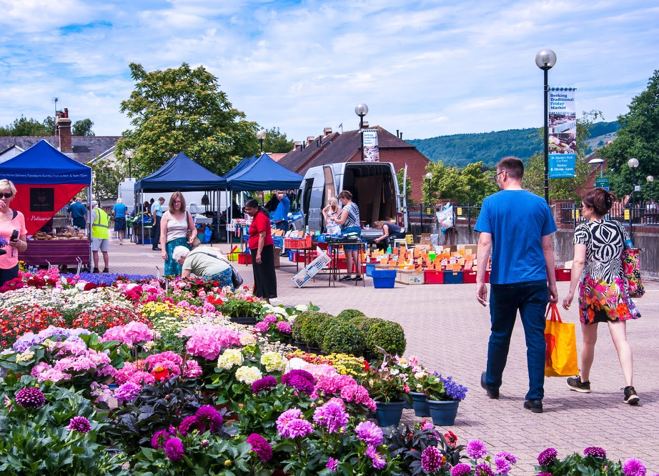 Dorking Friday Market   Summer Celebration Day – Friday 26th July!