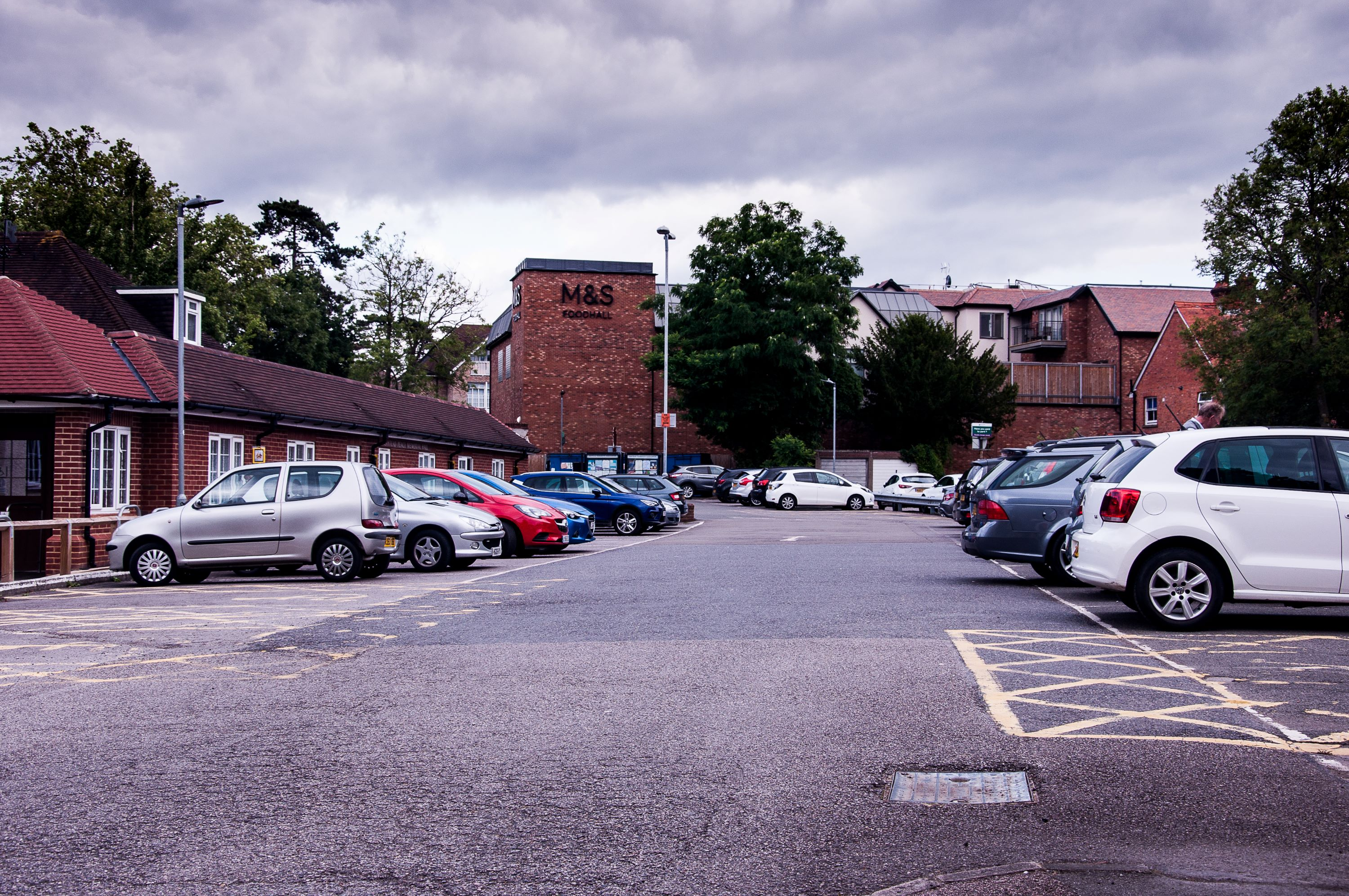 Ashtead Peace Memorial Hall Car Park