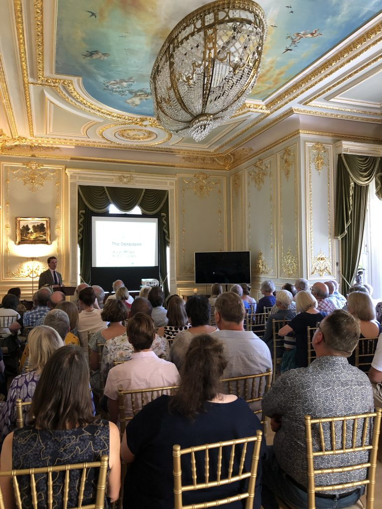 Book launch at beautiful Fetcham Park House