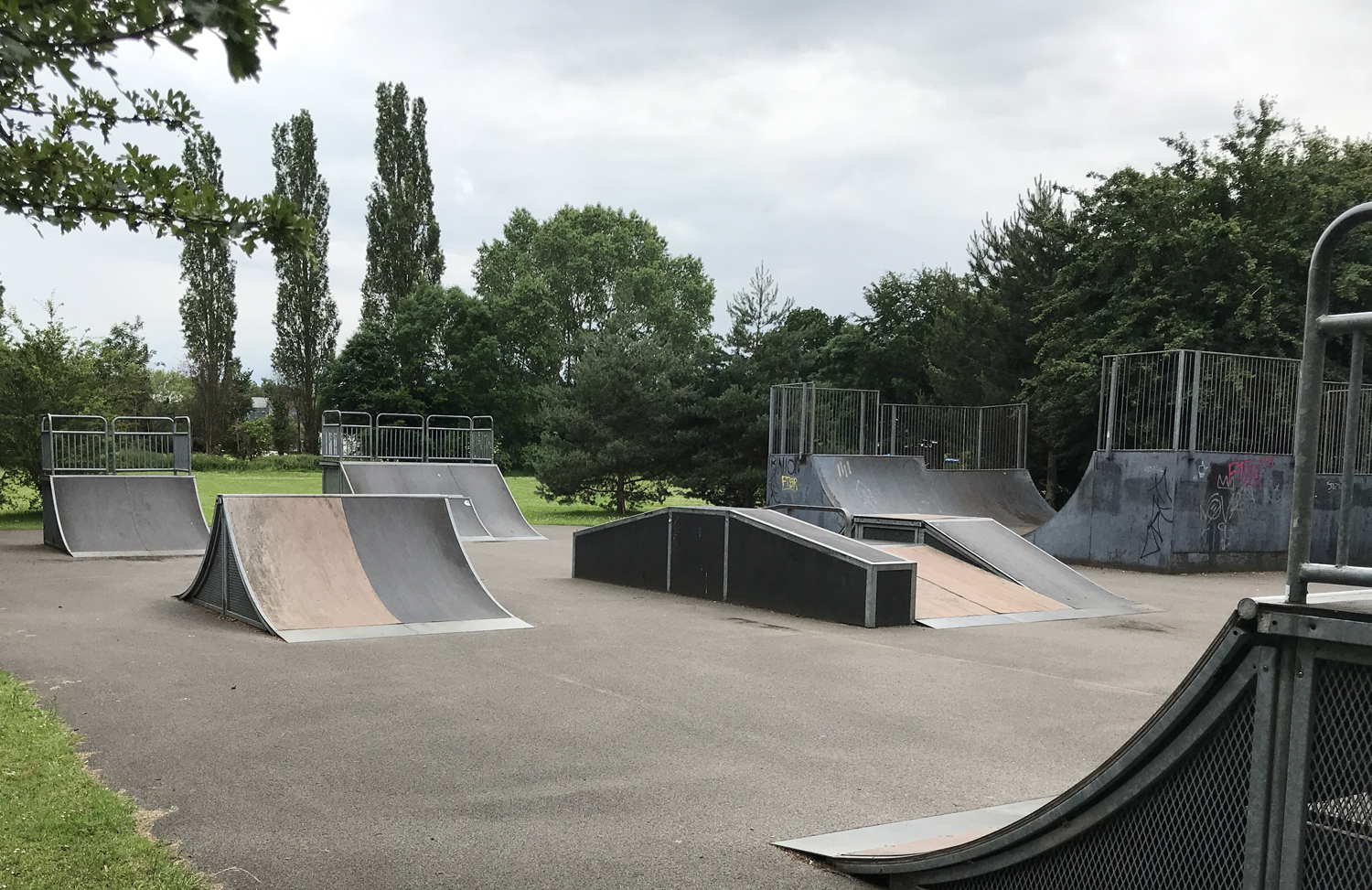 Skate Park Facilities Design Choices Revealed