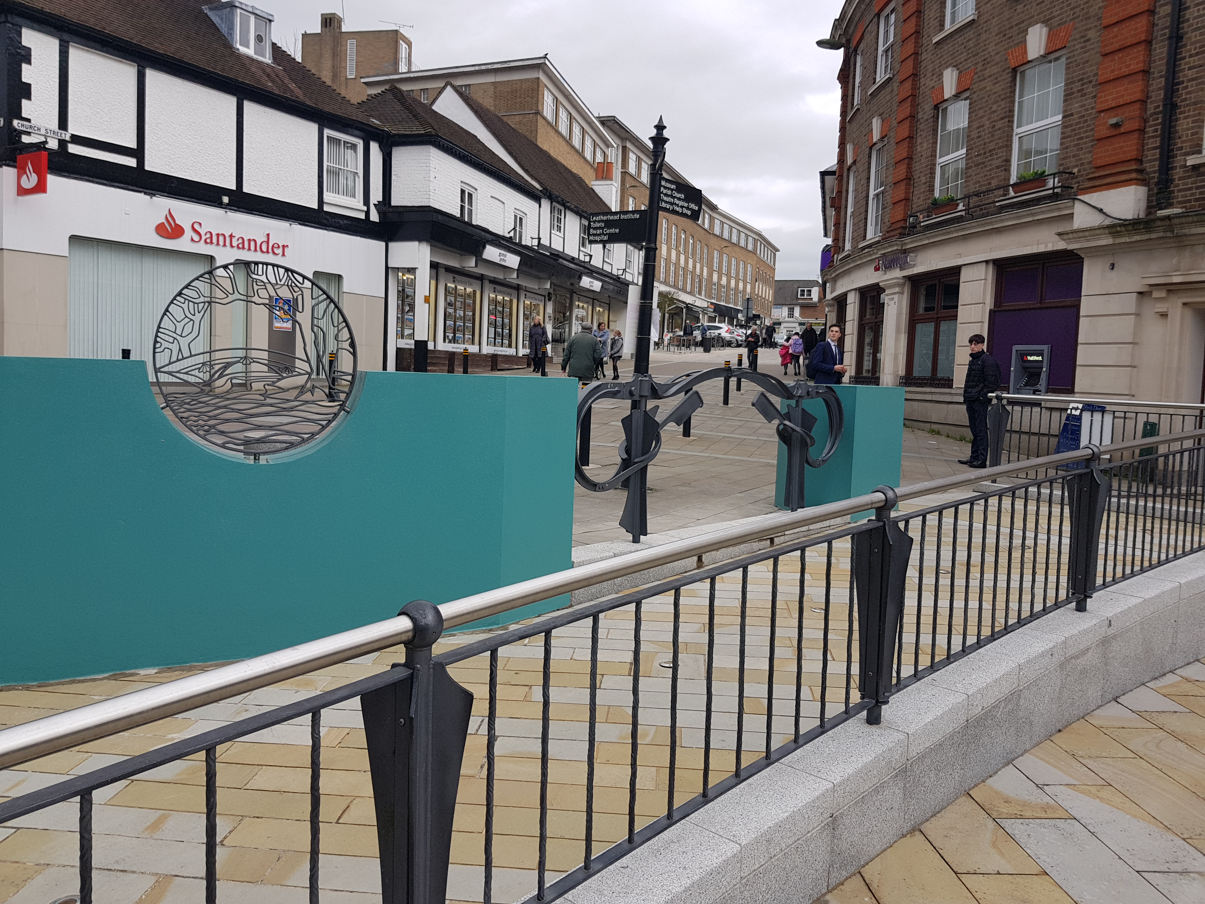 Repair and Fresh New Look for Leatherhead's High Street Feature
