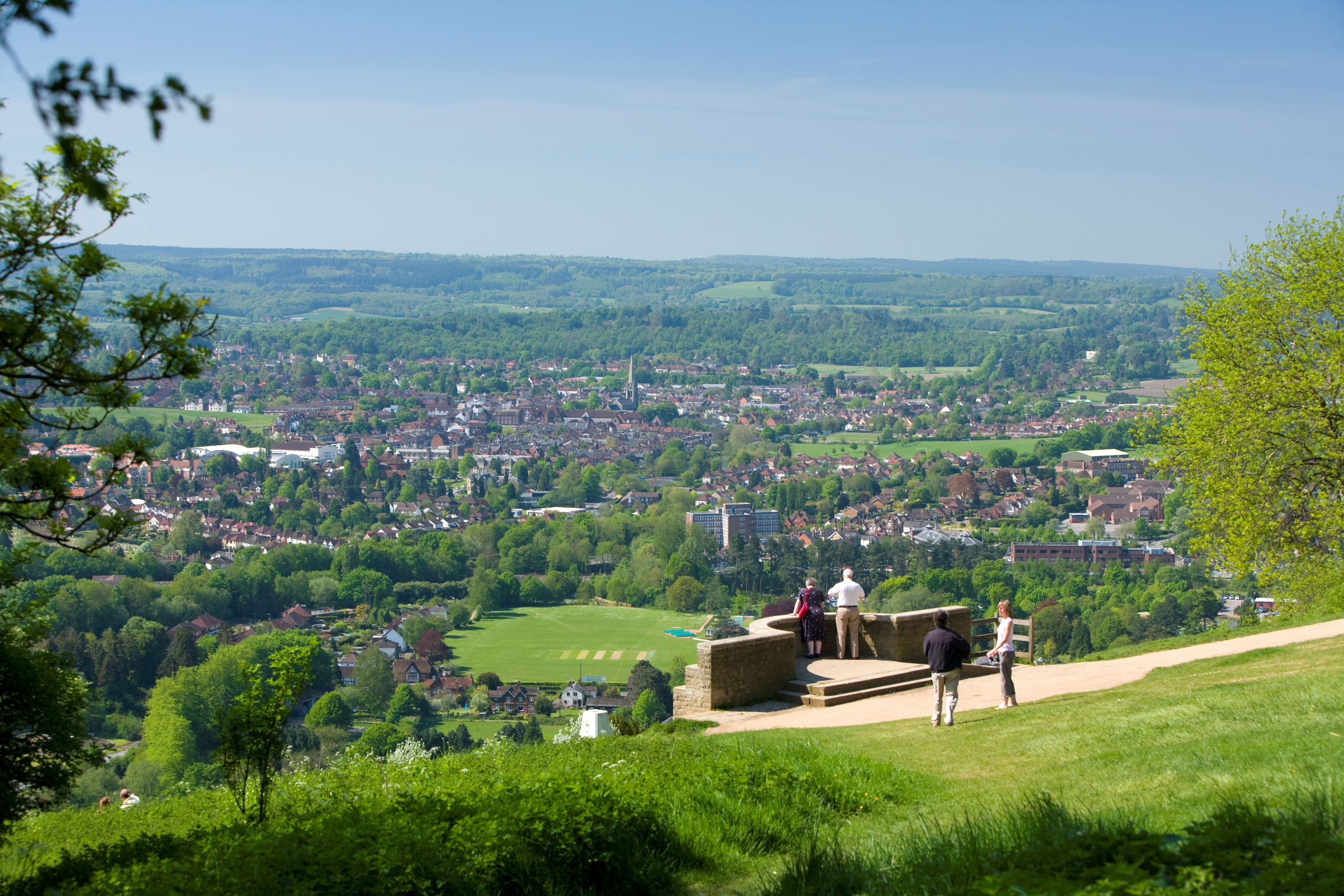 Dorking from Box Hill