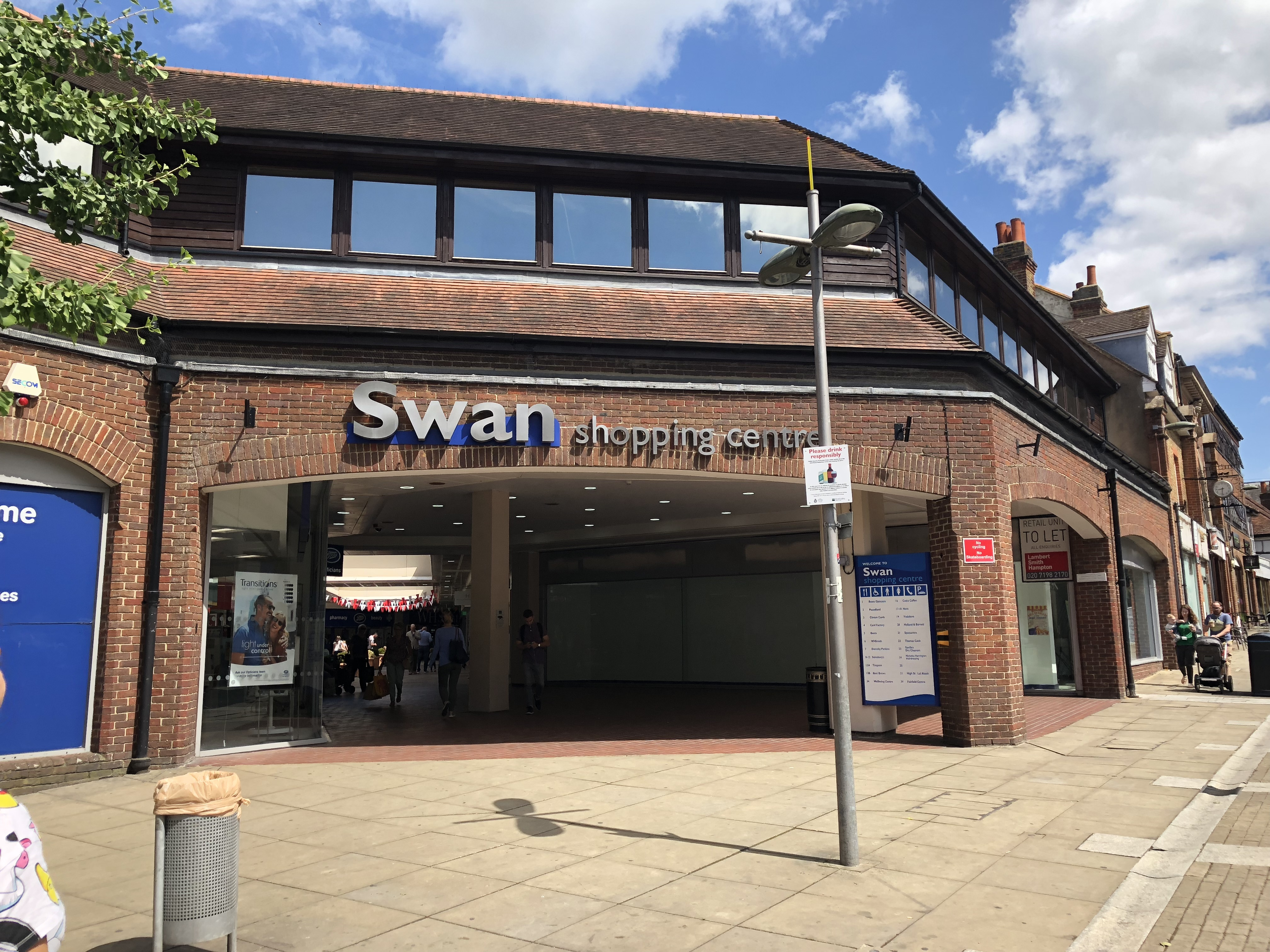 Swan Centre on the High Street