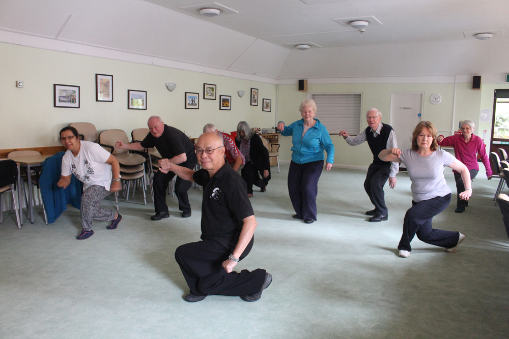 Tai Chi class at the Fairfield Centre