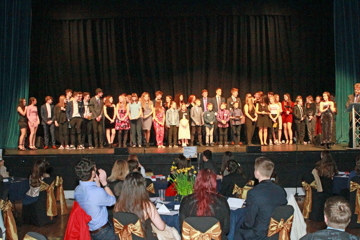 Young Mole Valley Stars Shine at Spectacular Youth Awards