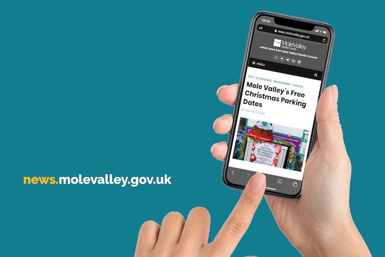 Mole Valley District Council Launches its Own News Website