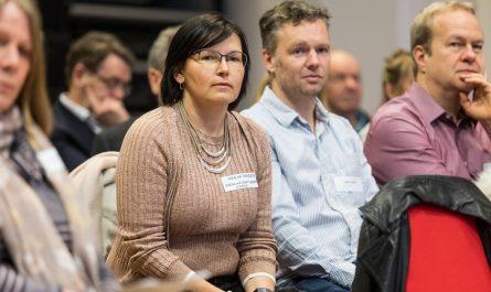 Attendees in audience of Digital Business Skills workshop