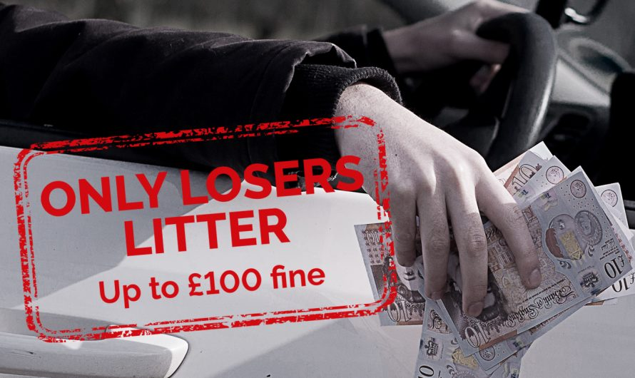 Only Losers Litter Campaign Launched
