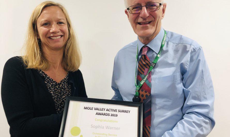 Mole Valley Active Surrey Awards